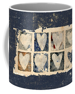Tattered Hearts Coffee Mug
