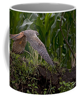 Coffee Mug featuring the photograph Tawny Eagle by J L Woody Wooden