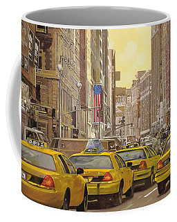 taxi a New York Coffee Mug