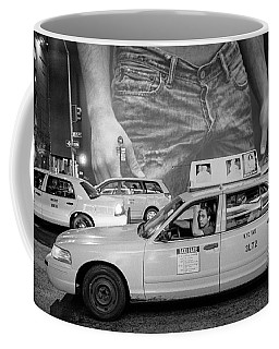 Taxis On Fifth Avenue Coffee Mug