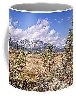 Coffee Mug featuring the photograph Taylor Creek Panorama by Jim Thompson