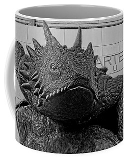 Tcu Horned Frog Black And White Coffee Mug