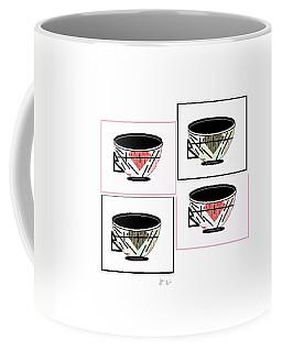 Coffee Mug featuring the digital art Tea Time 2 by Ann Calvo