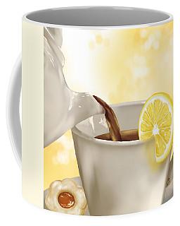 Tea Time Coffee Mug by Veronica Minozzi