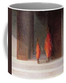 Teacher, 2005 Acrylic On Canvas Coffee Mug
