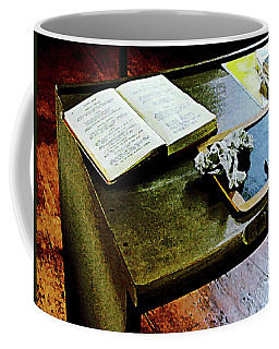 Teacher - Blackboard And Book Coffee Mug