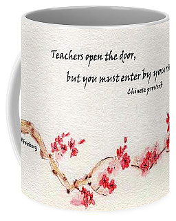 Teachers Open The Door Coffee Mug