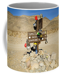Coffee Mug featuring the photograph Teakettle Junction In Death Valley  by Yva Momatiuk and John Eastcott