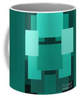 Teal On Teal 11 Coffee Mug