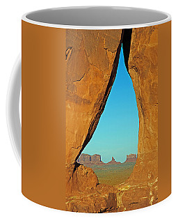 Tear Drop Arch Monument Valley Coffee Mug