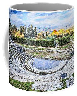 Teatro Romano Fiesole Tuscany Coffee Mug