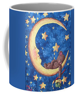 Teddy Bear Dreams Coffee Mug by Megan Walsh