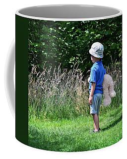 Teddy Bear Walk Coffee Mug by Keith Armstrong