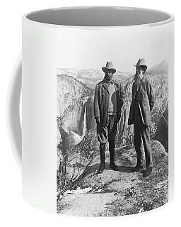 Teddy Roosevelt And John Muir Coffee Mug