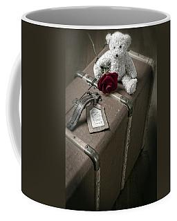 Teddy Wants To Travel Coffee Mug