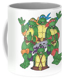 Teenage Mutant Ninja Turtles  Coffee Mug