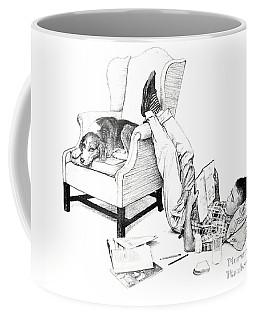 Teenager Studying Coffee Mug