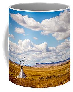 Teepee At Buffalo Jump Coffee Mug