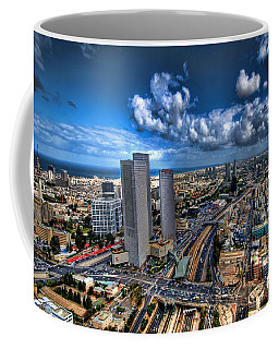 Tel Aviv Center Skyline Coffee Mug