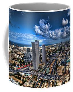 Tel Aviv Center Skyline Coffee Mug