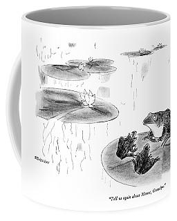 Tell Us Again About Monet Coffee Mug