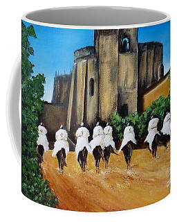 Templar Knights And The Convent Of Christ Coffee Mug
