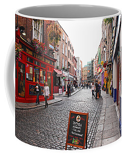 Coffee Mug featuring the photograph Temple Bar by Mary Carol Story