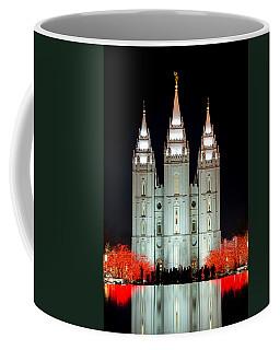 Temple Lights Coffee Mug