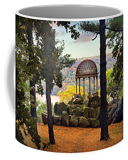 Temple Of Love In Autumn Coffee Mug