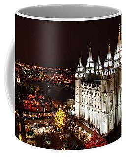 Temple Square Coffee Mug by David Andersen