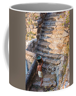 Temple Steps Coffee Mug