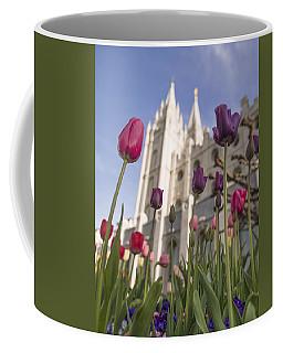 Temple Tulips Coffee Mug
