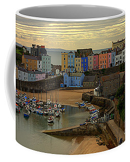 Tenby Harbour In The Morning Coffee Mug