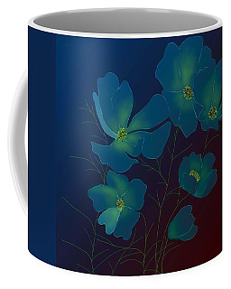 Tender Cosmos Coffee Mug by Latha Gokuldas Panicker
