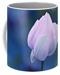 Tender Morning With Lotus Coffee Mug