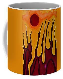 Tendrils Original Painting Coffee Mug