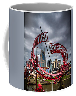 Tennessee - Nashville Through Sculpture Coffee Mug