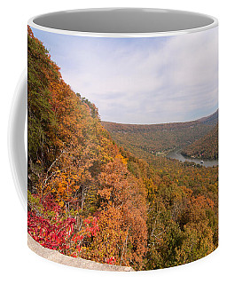 Coffee Mug featuring the photograph Tennessee Riverboat Fall by Paul Rebmann