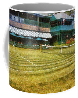 Tennis Hall Of Fame - Newport Rhode Island Coffee Mug
