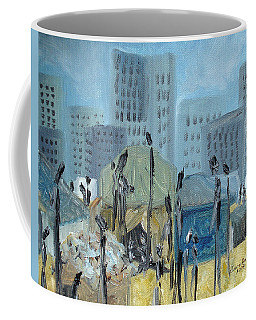 Tent City Homeless Coffee Mug
