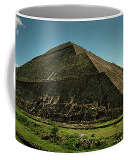Teotihuacan Pyramids Archaeological Coffee Mug