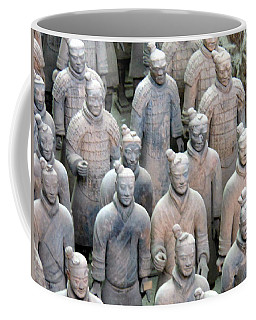 Terracotta Warriors Coffee Mug by Kay Gilley
