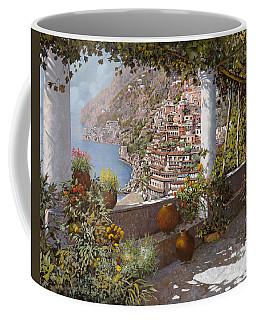 terrazza a Positano Coffee Mug
