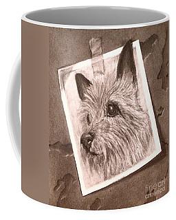 Terrier As Optical Illusion Coffee Mug