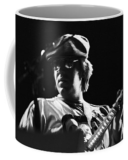 Terry Kath At The Cow Palace In 1976 Coffee Mug