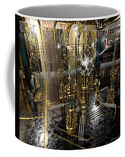 Tesla Power Generator Coffee Mug by James Christopher Hill