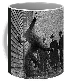 Testing Football Helmets In 1912 Ouchhhhh Coffee Mug