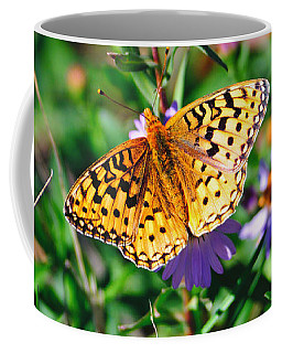 Teton Butterfly Coffee Mug