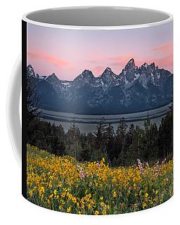Teton Spring Coffee Mug by Leland D Howard