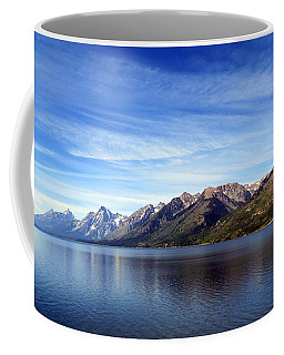 Tetons By The Lake Coffee Mug